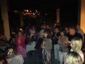 Alfresco Greek night